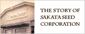 The Story of SAKATA SEED CORPORATION
